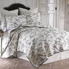 pictures gallery of grey toile bedding