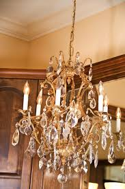 add a chandelier to rooms with high ceilings or stairwells