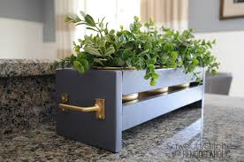 Wall Planters Ikea Remodelaholic How To Build Modern Tabletop Planters