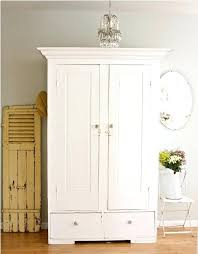 white wood wardrobe armoire shabby chic bedroom. Bedroom Furniture White Armoire Wardrobe Ikea With Mirror Stunning Closet Wood Shabby Chic M