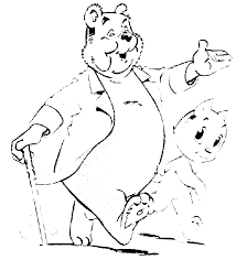 Kleurplaat Olivier Bommel Animaatjesnl