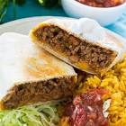 beef   bean burritos