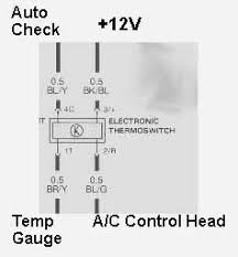 sjm autotechnik, audi technical service repair information Auto Gauge Water Temp Wiring Diagram wiring diagram of the mfts connections, showing wiring colors car water temperature gauge wiring diagram