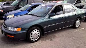 1996 Honda Accord LX Start Up, Quick Tour, Rev - 127K - YouTube