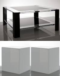 acrylic coffee and end tables from alexandra von furstenberg alexandra furniture
