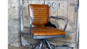 leather antique wood office chair leather antique. Retro Desk Chair Executive Office Tan Leather Industrial Vintage UK Antique Wood