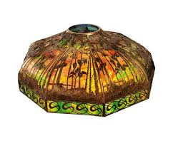 stained glass lampshade be repaired