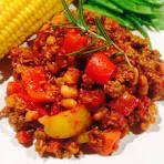 Chili sin carne sojafärs