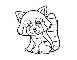 Disegni Pokemon Da Stampare E Colorare Disegno Di Panda Rosso Da