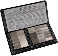 Surface Roughness Chart Ruberts Surface Roughness Comparison Chart
