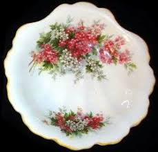 Royal Albert -Hawthorne Blossom- fluted pin dish Blossom Time Series -  Series www.royalalbertpatterns.com | Tea cups vintage, Royal albert, Tea  cup saucer