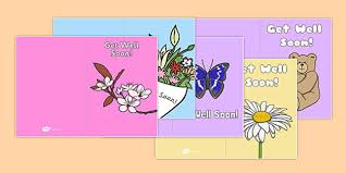 Get Well Soon Cards Printables Get Well Soon Cards Get Well Soon Cards Card Templates Sick