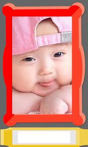 cute baby photo frames editor screenshot 7