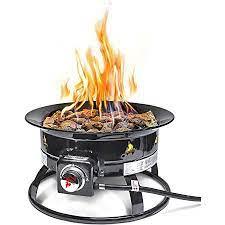 Amazon Com Outland Firebowl 823 Outdoor Portable Propane Gas Fire Pit 19 Inch Diameter 58 000 Btu Portable Outdoor Heating Garden Outdoor