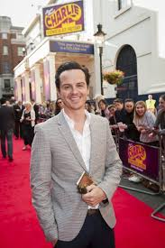 charlie and the chocolate factory world premiere pictures red andrew scott arrives at the charlie and the chocolate factory opening night at the theatre