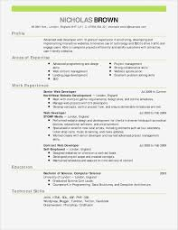 How To Write A Resume With One Job Experience Updating Your Resume