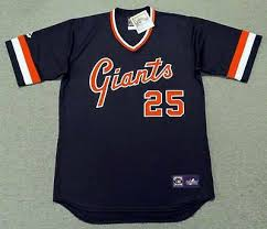 Barry Bonds San Francisco Giants Majestic Cooperstown