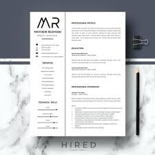 Modern Resume Contact Information Modern Professional Resume Template Helenamontana Info