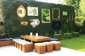 outdoor kitchen wall decor spring ideas backyard images brick ou