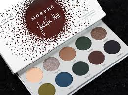 morphe x jaclyn hill dark magic eyeshadow palette swatches review eotd the vault collection