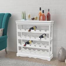 Buy vidaXL <b>Wine Cabinet Abreu</b> White