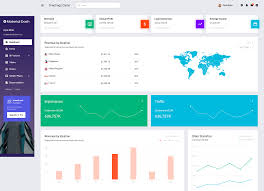 Material Design Responsive Template Best Bootstrap Admin Templates With Material Design
