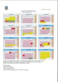 Calendar/Term Dates | Britannica International School, Budapest