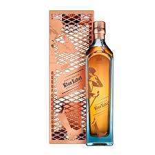 limited edition johnnie walker blue label gift set by tom dixon