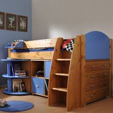 Cabin Bed with Desk and Storage