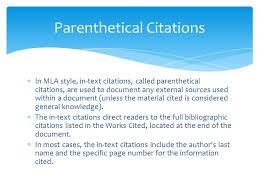 Mla In Text Citation For Website Mla Format Works Cited Ppt Video Online Download