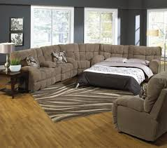living room mattress: living room sleeper sofa brown fabric armchair with sectional with pillow and with rug and