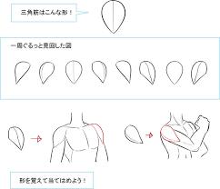 形の丸暗記で地盤を固める肩の描き方 いちあっぷ