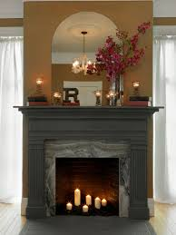 How to Make a Fireplace Mantel Using an Old Door Frame | Fireplace ...