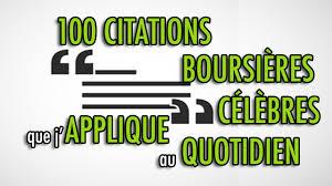 100 Citations Boursières Célèbres Que Japplique Au Quotidien