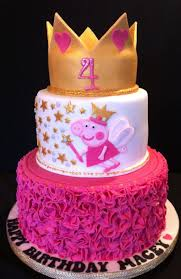 30 Amazing Image Of Peppa Pig Birthday Cakes Happy Birthday Cakes