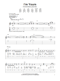 I M Yours Ukulele Strumming Pattern Classy Sheet Music Digital Files To Print Licensed Jason Mraz Digital