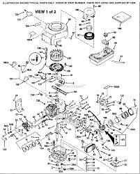 Tecumseh tvm125 60225k parts diagram for engine parts list 1