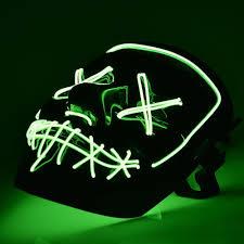 Halloween Led Light Up Purge Mask Halloween Purge Led Mask