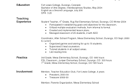 Objective For Teacher Resume Resume Objective Statement For Special Education Teacher Examples 94