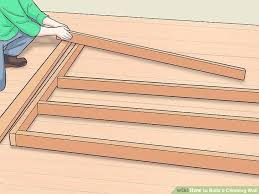 image titled build a climbing wall step 8 how to diy outdoor rock build your own climbing wall