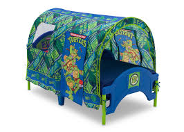 Toddler Tents For Beds Teenage Mutant Ninja Turtles Toddler Tent Bed Delta Childrens