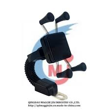 China <b>Universal Motorcycle Phone</b> Holder Rear View Mirror Stand ...