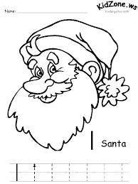 Christmas Worksheets for Pre Kindergarten | Homeshealth.info