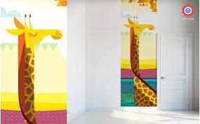 ... Giraffe Kids Wall Murals Wallpaper ...