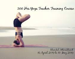 200 hours residential vinyasa hatha yoga teachers course