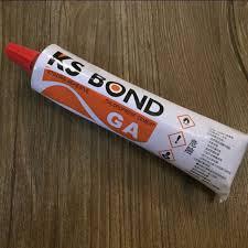 ks bond chloroprene contact glue cement for leather craft handicraft or shoe repair jamjarleather design craft on carou