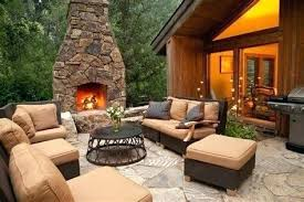 outside stone fireplace ideas how to build ark