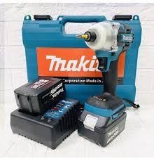 Máy bắt vít chuyên dụng Makita 118V DTW 285 Không chổi than - Máy khoan  tường Makita 118V - 2 pin chuẩn 10 cell