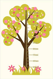 Growth Chart Design Bubble Tree Growth Chart