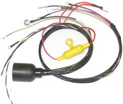evinrude internal wiring harness iboats com evinrude johnson 413 1975 round plug internal engine harness cdi electronics
